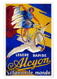 Poster  Alcyon sillonne le monde - Advertising Collection