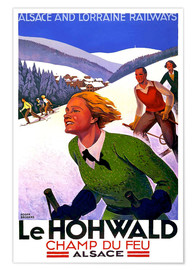 Poster  Le Hohwald, Alsace - Travel Collection