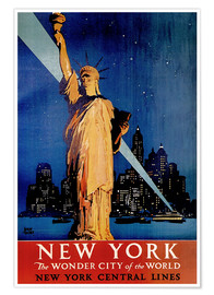 Poster  New York - Travel Collection
