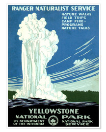 Poster Yellowstone National Park