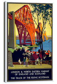 Tableau sur toile  Pont du Forth, London Railway (anglais) - Travel Collection