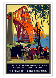 Poster  Pont du Forth, London Railway (anglais) - Travel Collection