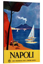 Tableau en aluminium  Naples, Italie - Travel Collection