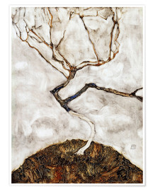 Poster  Small Tree in Late Autumn - Egon Schiele