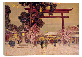 Bois  View of a Shinto Shrine, c.1889 - Sir Alfred East