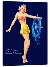 Toile  Pin Up - Ship Shape - Al Buell