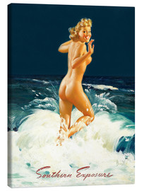 Tableau sur toile  Pin-up Southern Exposure - Al Buell