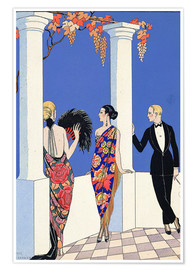 Georges Barbier - The Taste of Shawls, 1922