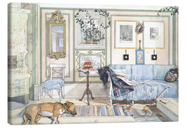 Tableau sur toile  Coin cosy - Carl Larsson