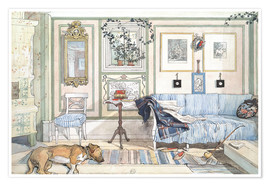 Poster  Coin cosy - Carl Larsson