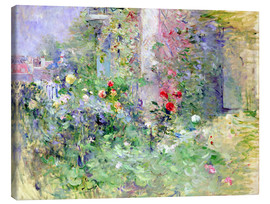Toile  The Garden at Bougival - Berthe Morisot