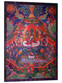 Tibetan School - Thangka depicting Green Tara