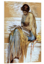 Tableau en PVC  Female Figure Study - Albert Joseph Moore