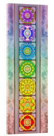 Verre acrylique  The Seven Chakras - Series III -Artwork II - Dirk Czarnota