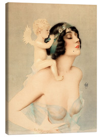 Alberto Vargas - Girl with angel