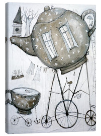 Toile  Tea-Transport - Christin Lamade