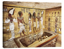 Tableau sur toile  Grave of Tutankhamun in the Valley of the Kings