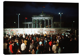 Toile  Fall of the Berlin Wall