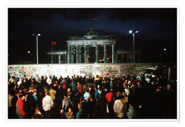 Poster  Fall of the Berlin Wall