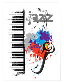 Poster  Notes de jazz - colosseum