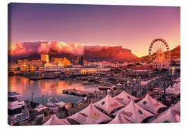 Tableau sur toile  Victoria & Alfred Waterfront, Cape Town, South Africa - Stefan Becker