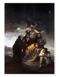Poster  The Spell, The Witches - Francisco José de Goya