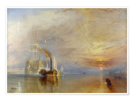 Poster  The fighting Temeraire - Joseph Mallord William Turner