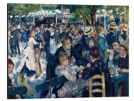 Alu-Dibond  Ball at the Moulin de la Galette - Pierre-Auguste Renoir