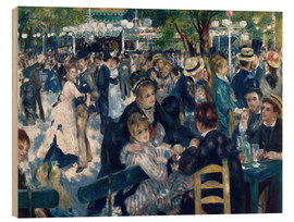Bois  Ball at the Moulin de la Galette - Pierre-Auguste Renoir