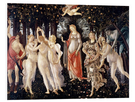 Tableau en PVC  Le Printemps - Sandro Botticelli