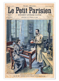 Poster  Pierre and Marie Curie
