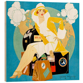 Bois  traveling Lady - Life magazine 1927 - Clarence Coles Phillips