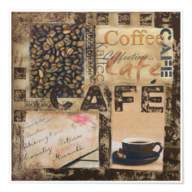 Poster  Cafe - Andrea Haase