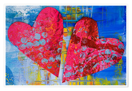 Poster  Colorful Love - Andrea Haase