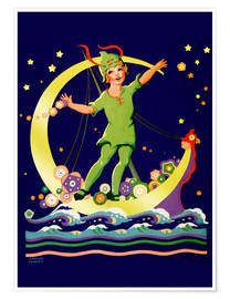 Poster  Peter Pan - Lawson Fenerty
