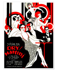 Poster  Dry Martini - Advertising Collection