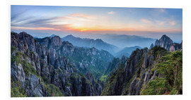 Tableau en PVC  Huangshan - Jan Christopher Becke