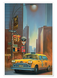 Poster Yellow Cab