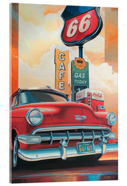 Verre acrylique  Route 66 Cafe - Georg Huber