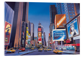 Verre acrylique  Times Square - Georg Huber