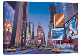 Tableau sur toile  Times Square - Georg Huber