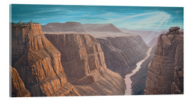 Verre acrylique  Grand Canyon - Georg Huber