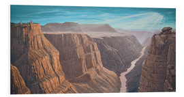 Tableau en PVC  Grand Canyon - Georg Huber