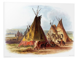 Forex  Camp of Native Americans