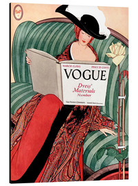 Tableau en aluminium  Vogue vintage - Advertising Collection