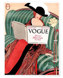 Poster  Vogue vintage - Advertising Collection