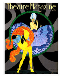 Poster Theatre Magazine New York