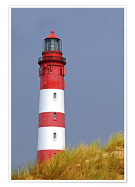 Poster Phare rouge