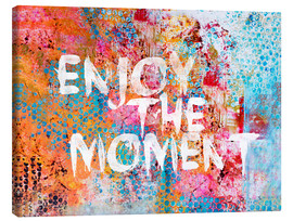 Tableau sur toile  Enjoy the moment - Andrea Haase