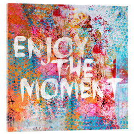 Tableau en verre acrylique  Enjoy the moment II - Andrea Haase